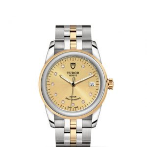 La Difference Markham TUDOR Glamour Date 55003 medium size