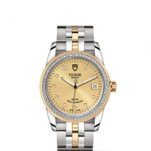 La Difference Markham TUDOR Glamour Date 55023 medium size