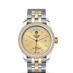 La Difference Markham TUDOR Glamour Date+Day 56003 medium size