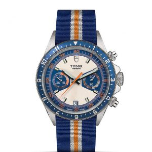 La Difference Markham TUDOR Heritage Chrono Blue 70330B large size